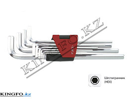 Набор Г-образных шестигранников 1.27-10 мм, 10пр. FORCE 5102L