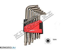 Набор Г-образных ключей TORX, T6-T60, 15 пр. FORCE 5151L
