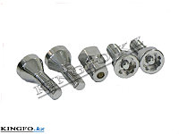Набор болтов секретных М14x1,5RH L=30 мм 5шт.FORCE 645305