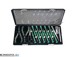 Набор инструментов для ювелирных работ, 16 предметов. FORCT 2161