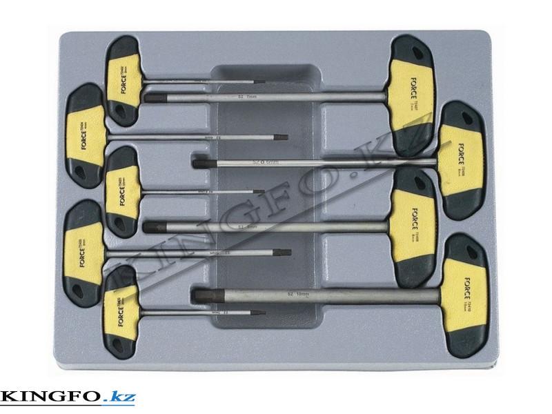Набор Т-образных отверток 2-10 мм. 9 пр. FORCE 2097
