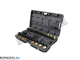 Набор для перепрессовки втулок и сайлентблоков (гидравлический привод) FORCE 949T1