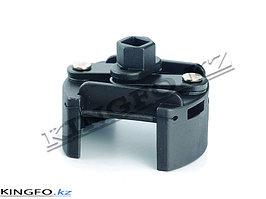 "Съемник масляных фильтров 1/2"", 60-80 мм, двух-захватный. FORCE 9B0703"