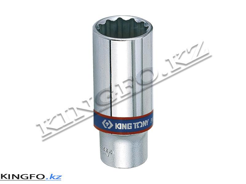 """Головка торцевая высокая 3/8"""", 12-гр 13 мм. KING TONY 323013M"""