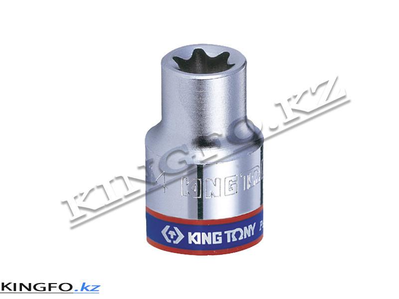 "Головка торцевая TORX E-профиль 1/4"", Е-5. KING TONY 237505M"