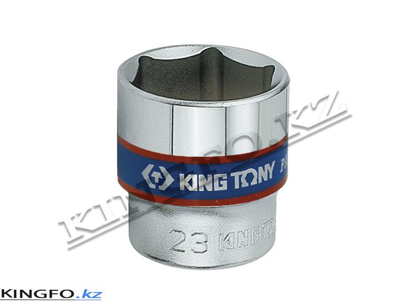 """Головка торцевая стандартная 3/8"""", 6-гр. 13 мм. KING TONY 333513M"""