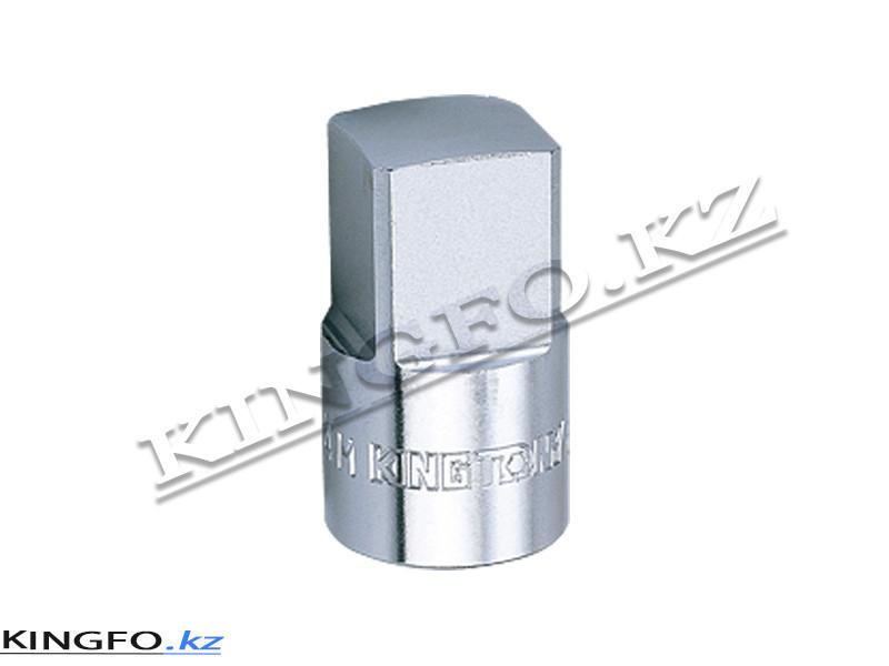 """Насадка торцевая 1/2"""", 19 мм, четырехгранная. KING TONY 401419M"""