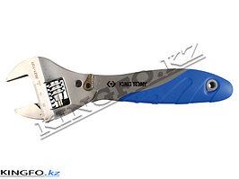 Ключ разводной CHROME 250 ММ с трещоточным механизмом KING TONY 3631-10R