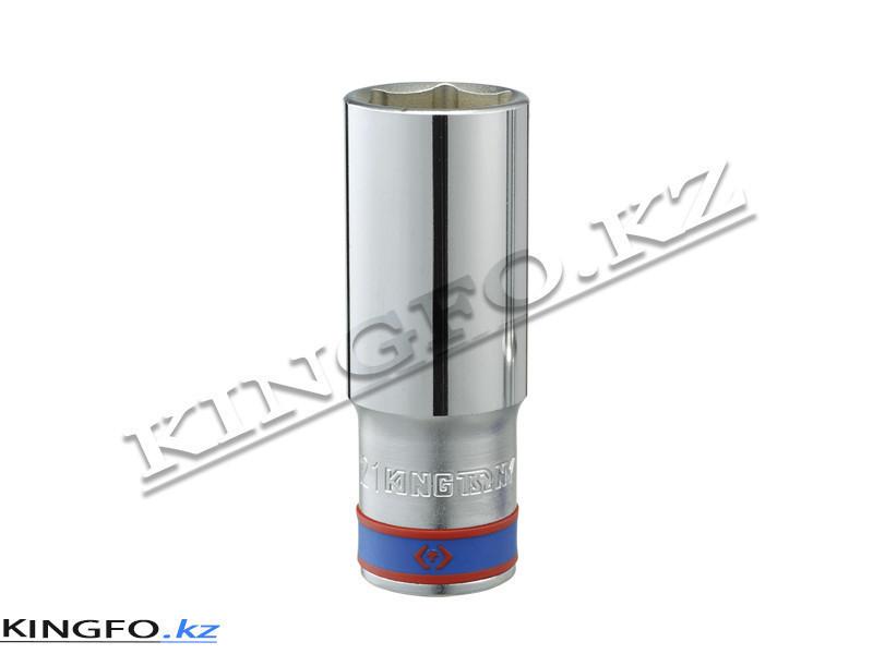 """Головка торцевая глубокая 6-гр. 3/4"""", 22 мм. KING TONY 623522M"""