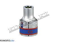 """Головка торцевая TORX Е-стандарт 1/2"""", E20. KING TONY 437520M"""