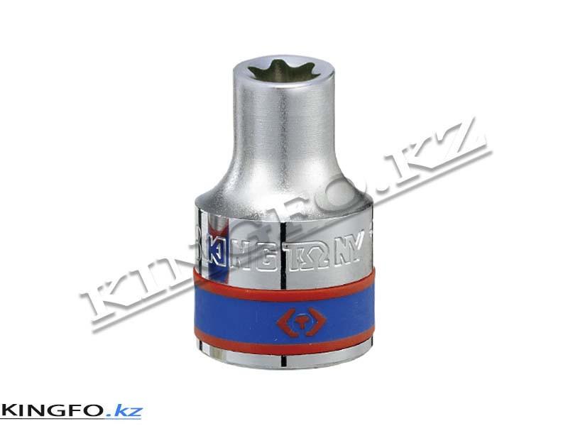 """Головка торцевая TORX Е-стандарт 1/2"""", E24. KING TONY 437524M"""