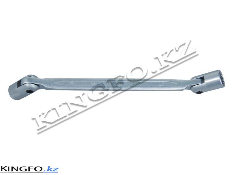 Ключ торцевой шарнирный 8x10 мм. KING TONY 19100810