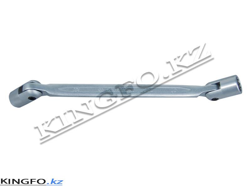 Ключ торцевой шарнирный 18x19 мм. KING TONY 19101819