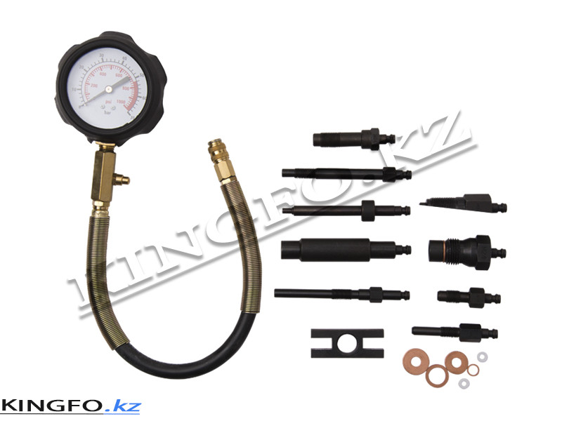 Компрессометр для дизельных двигателей. KING TONY 9DP2301