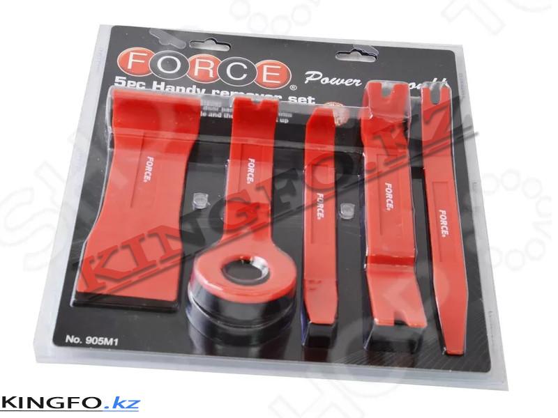 Набор лопаток для разборки обшивки (пластик) 5 пр. FORCE 905M1