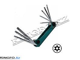 Набор Г-образных ключей TORX T9H-T40H, 8 шт. FORCE 5083TF
