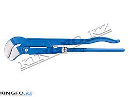 Ключ газовый с изогнутыми губками. №1. KING TONY 6521-13