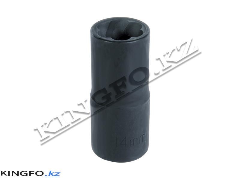 """Головка для поврежденного крепежа 1/2"""", 14 мм KING TONY 9TD403-14M"""