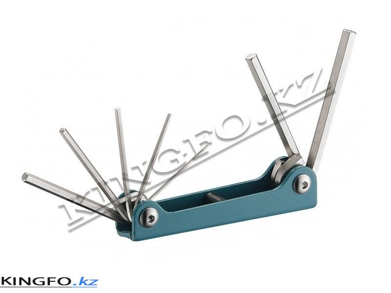 Набор шестигранных ключей 7 шт. FORCE 5072F