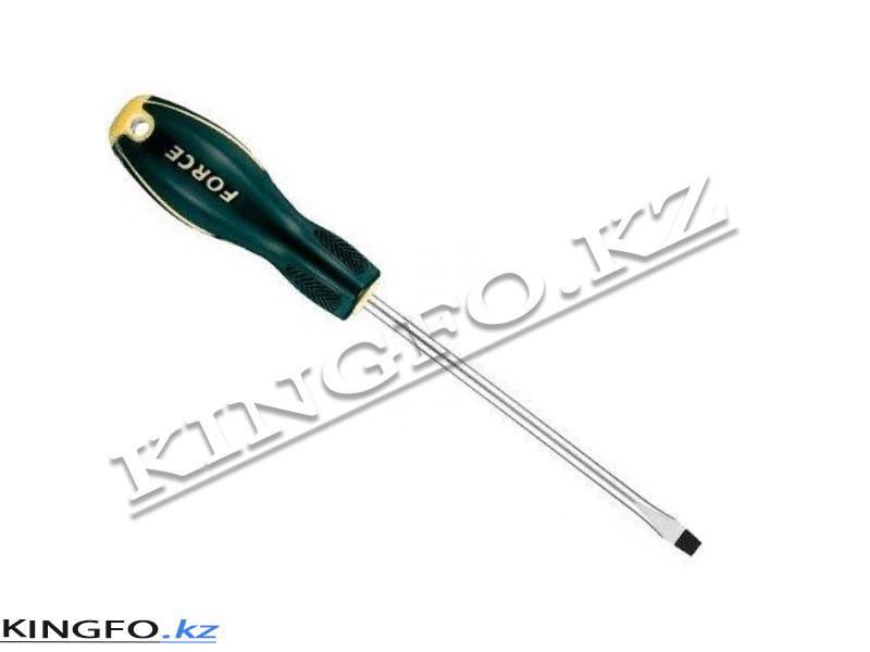 Отвертка шлицевая Slotted 1.2x6,5 мм, 150 мм. FORCE 713065