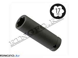 Спецголовка для колесных гаек-секреток Mersedes 17 мм FORCE 9T0206