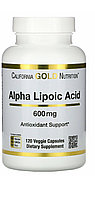 Альфа-липоевая кислота 600 мг 120 капсул. California gold nutrition
