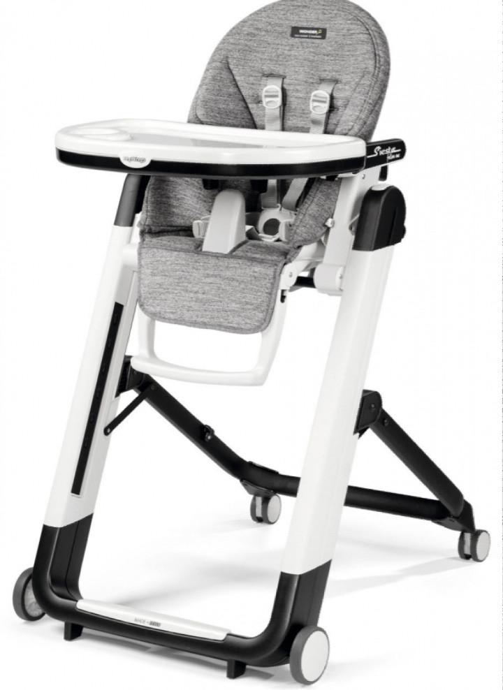 Детский стульчик Peg-Perego Siesta Follow me Wonder Grey