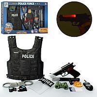 Набор Полицейского с жилетом и пистолетом 032