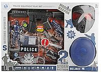 Набор Полицейского с каской и противогазом