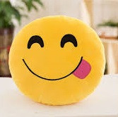 Мягкая игрушка Смайлик (эмодзи) 30 см
