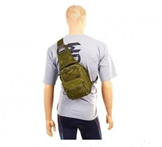 Рюкзак-сумка тактический однолямочный SILVER KNIGHT 098