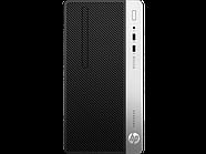 Системный блок HP 7EL63EA ProDesk 400G6 MT,180W,i3-9100,UHD,4GB,1TB HDD,W10p64,DVD-WR,1yw,USB kbd,mo