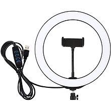 "Кольцевая USB LED лампа Puluz PU397 10.2"""