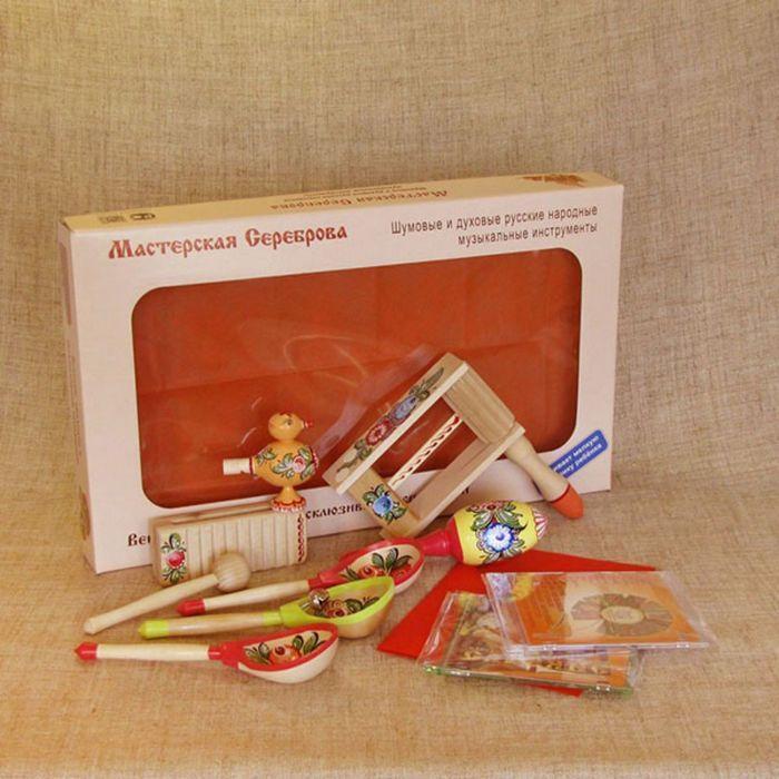 Комплект инструментов Мастерская Сереброва «Петрушка»