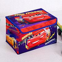 """Корзина для игрушек """"Мои трофеи"""" Тачки, 37 х 24 х 24 см"""