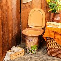 Ведро-туалет, 17 л, 'Плетёнка'