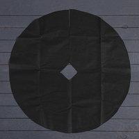 Круг приствольный, d  0,8 м, плотность 60 г/м, спанбонд с УФ-стабилизатором, набор 5 шт., чёрный, 'Агротекс'