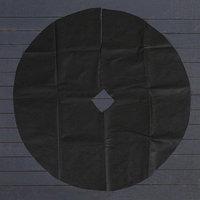 Круг приствольный, d  1 м, плотность 60 г/м, спанбонд с УФ-стабилизатором, набор 5 шт., чёрный, 'Агротекс'