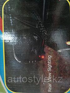 Хром зеркал Mitsubishi L200 с повторителем и доп. освещением.
