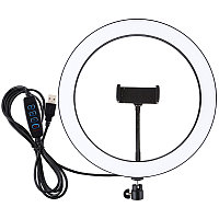 "Кольцевая USB LED лампа Puluz PU407 11.8"""
