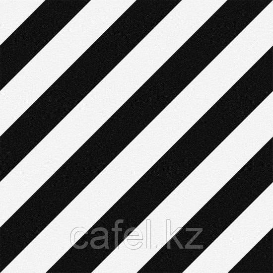 Керамогранит 30х30 Stream |  Стрим черно-белый