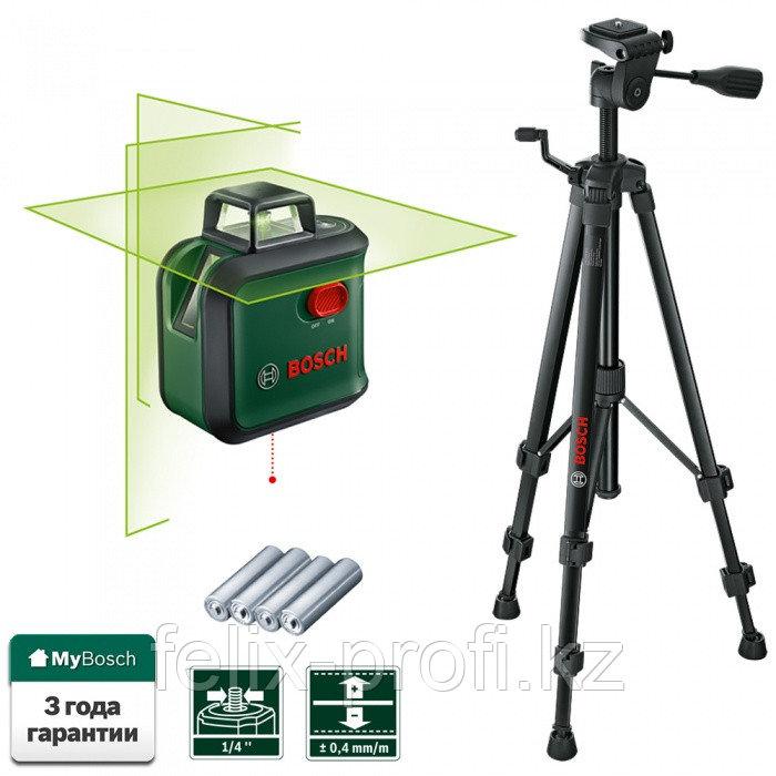 """Лазерный нивелир """"Bosch"""" Advanced Level 360 set"""