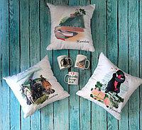 Пошив и печать на подушках