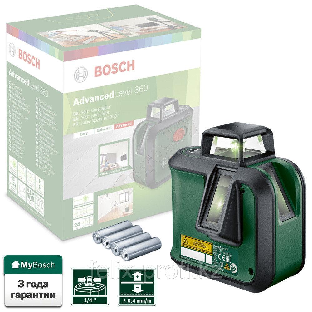 """Лазерный нивелир """"Bosch"""" Advanced Level 360"""
