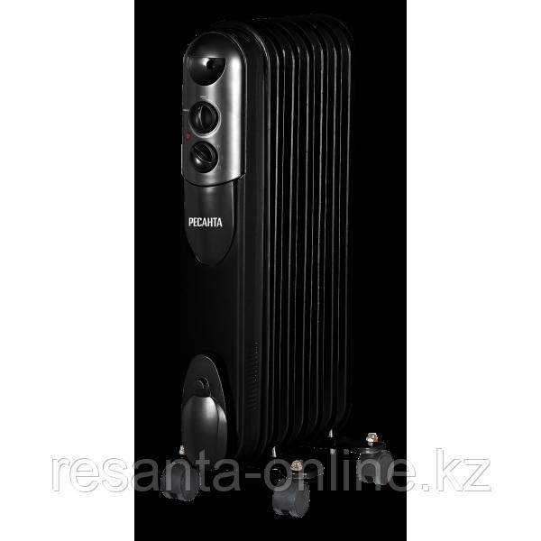 Масляный радиатор РЕСАНТА ОМПТ-9НЧ (2,0 кВт)