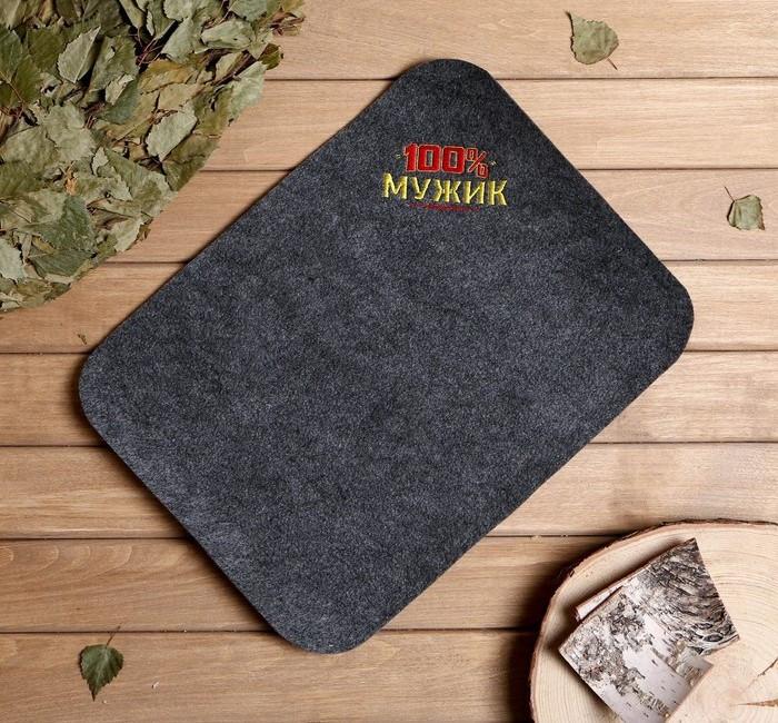 Пошив и печать на банных коврики сидушки