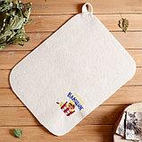 Пошив и печать на банных коврики сидушки, фото 3