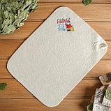 Пошив и печать на банных коврики сидушки, фото 4