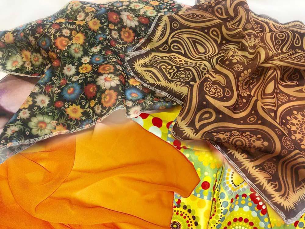 Пошив и печать на платках