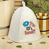 Пошив и печать на банных шапках, фото 2